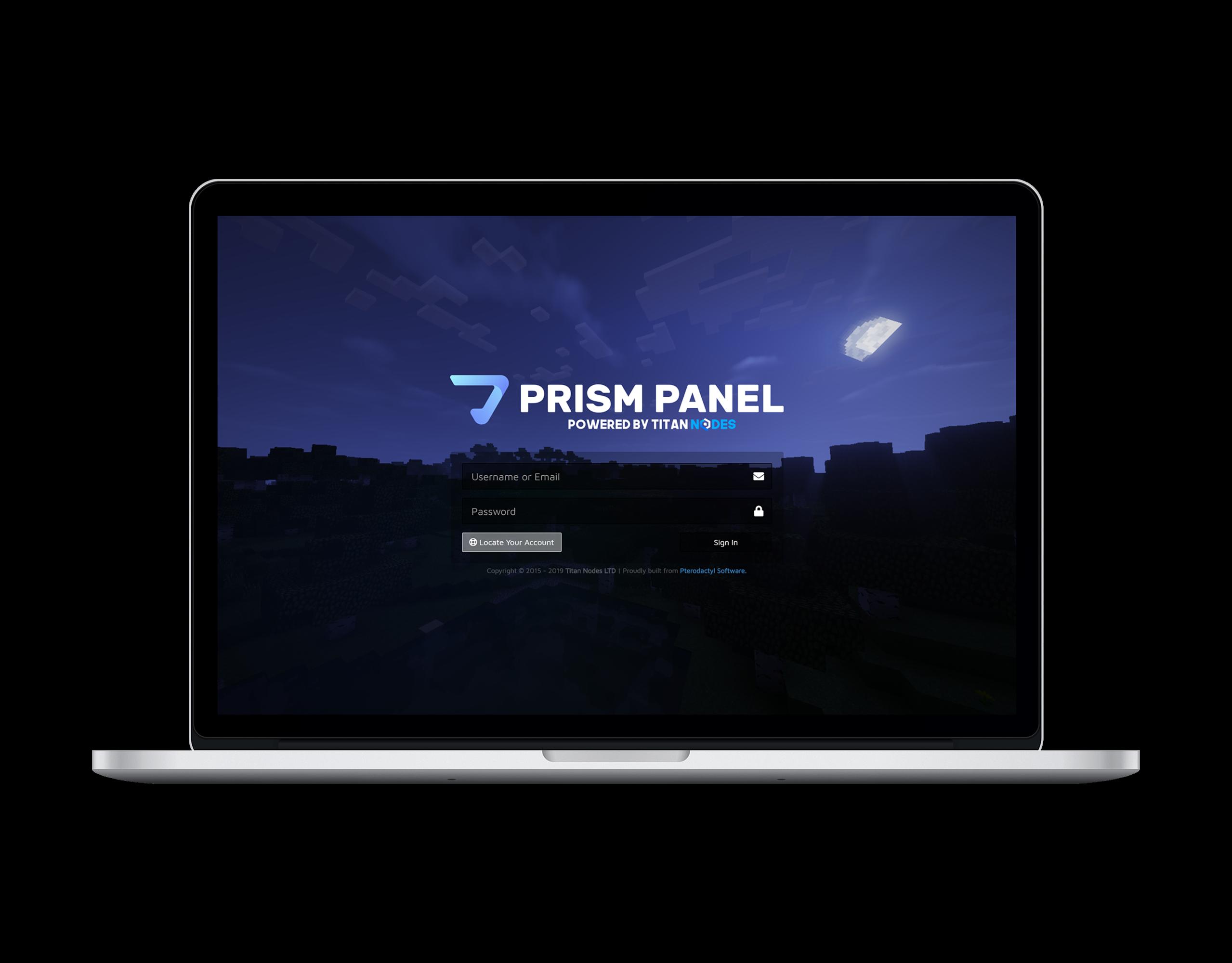 Prism Panel Laptop